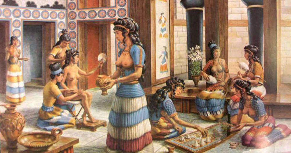 История минойской цивилизации